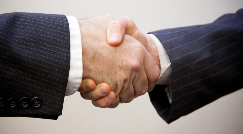 Ein Unternehmen profitiert von langfristigen Verträgen