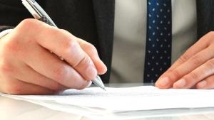 Unterschrift Unternehmensverkauf