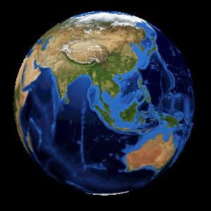4 asian tigers globe